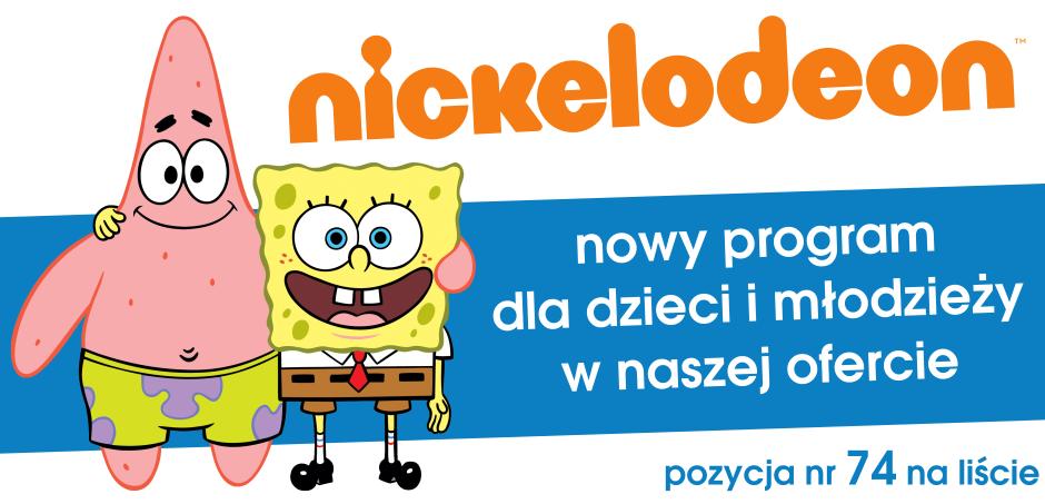 Nowy program w ofercie. Nickelodeon