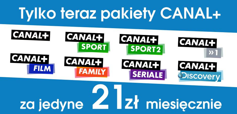 Promocja: CANAL+ za jedyne 21 zł miesięcznie