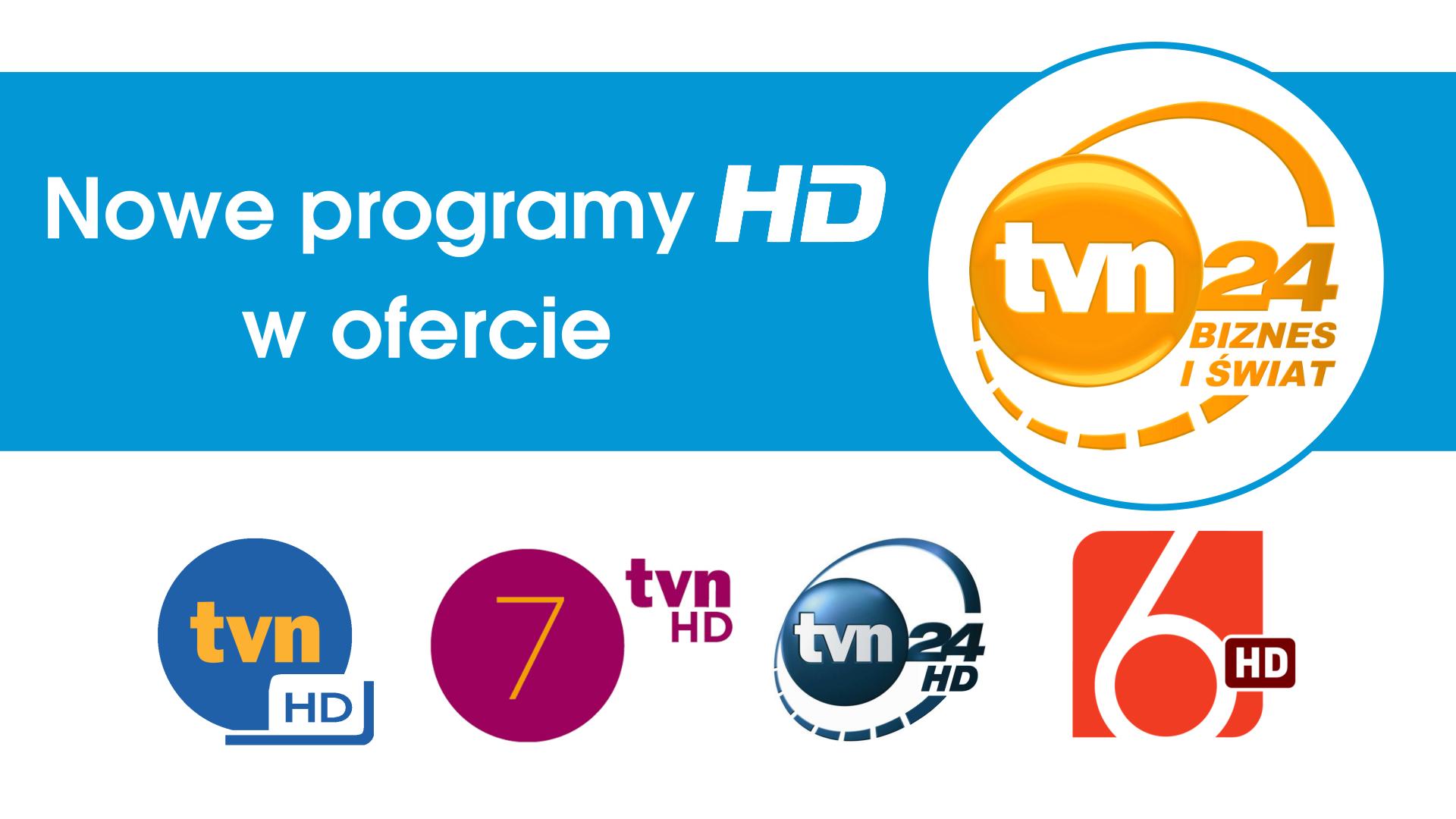 Nowe programy HD w ofercie.